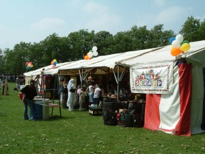 Art & Craft tent