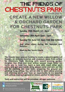 FRIENDS OF CHESTNUTS PARK WILLOW WEAVING LEAFLET