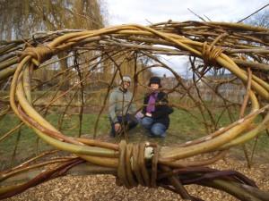 Reindeers in Chestnuts Park 006